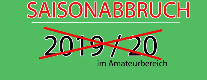 Saisonabbruch 2019/20