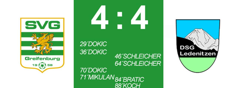 Torreiches Unentschieden