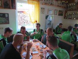 Mannschafts-Frühstück